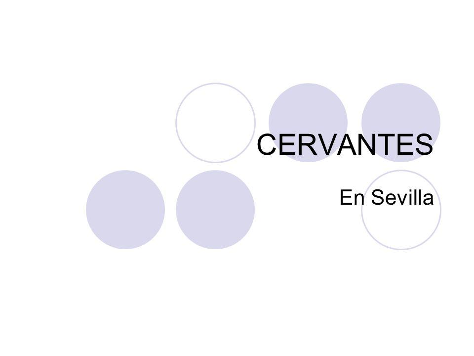 La glorieta de Cervantes La Glorieta de Cervantes es un pequeño espacio incluido dentro de la Plaza de América frente al Pabellón Real, que a su vez está ubicada al sur del Parque de María Luisa de Sevilla.