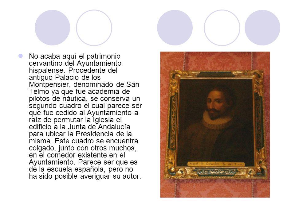Arquillo del Ayuntamiento, plaza de San Francisco Ésta es uno de los múltiples azulejos del álbum cervantino que podemos encontrar por el centro de Sevilla.