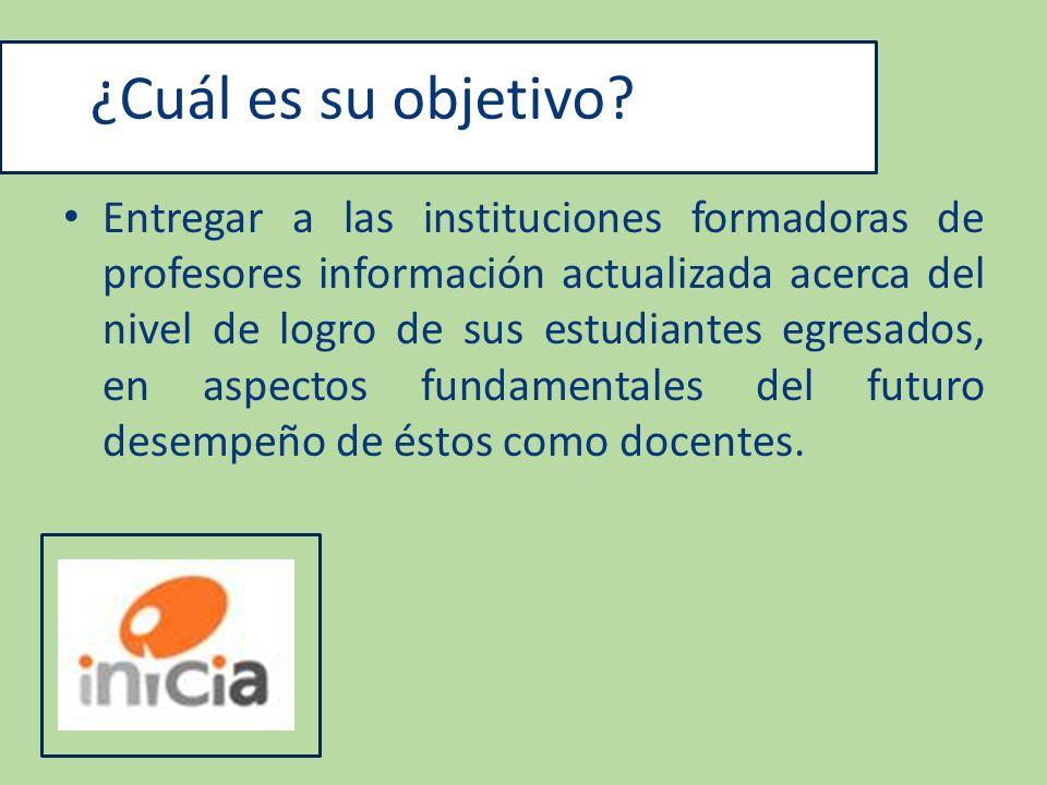 Conclusiones Inicia 2009 La prueba de INICIA muestra la mala calidad de formación docente y deja al descubierto las falencias del sistema de acreditación chileno (96% de los programas están acreditados) y la falta de un organismo que monitoree a las instituciones que educa.