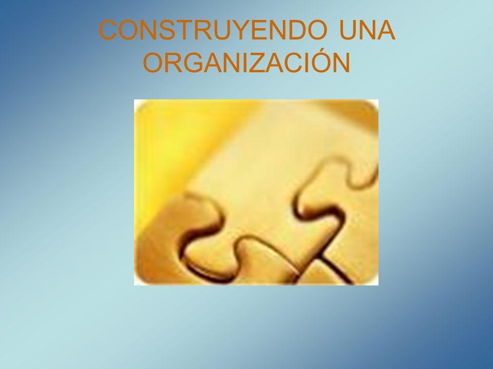 Elementos esenciales de una organización 1.VALOR Personas comprometidas con responsabilidades complementarias.