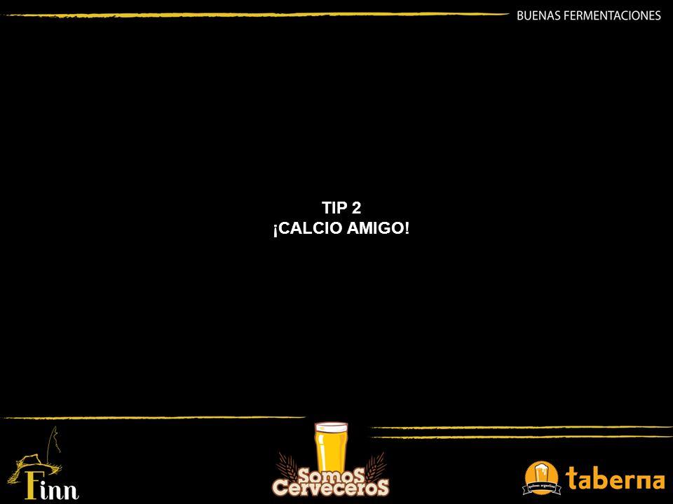 CALCIO (Ca2+) Catión fundamental desde el inicio de la elaboración.