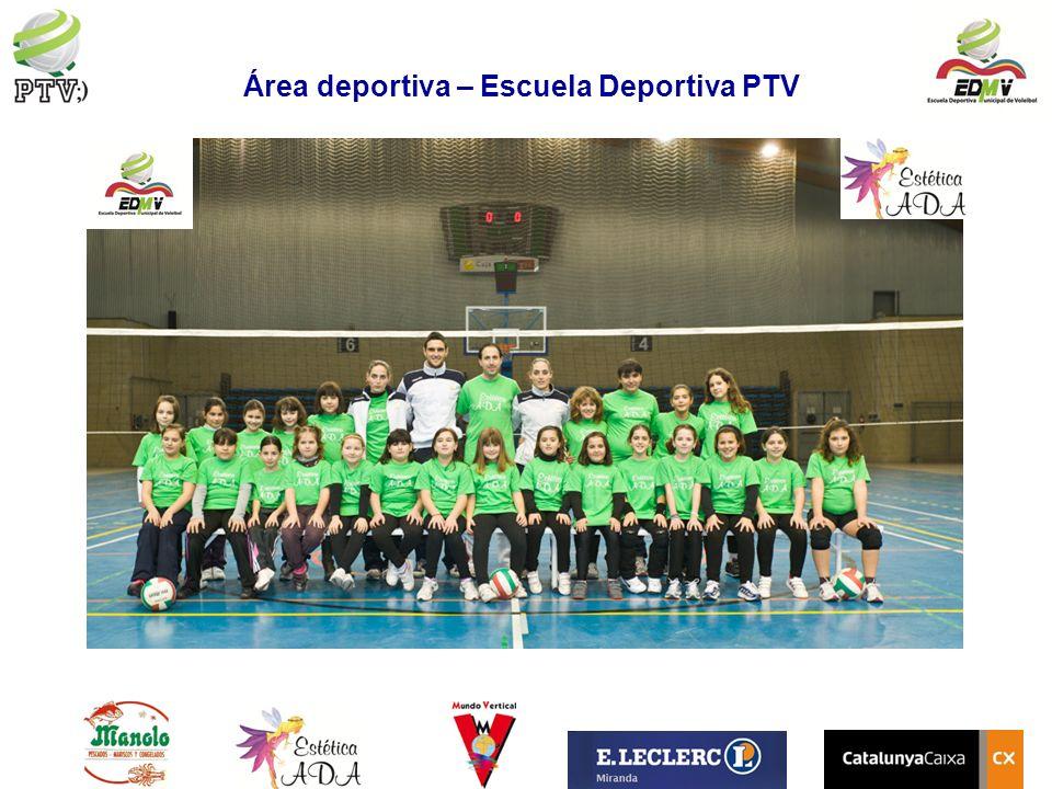 Área deportiva – Escuela Deportiva PTV