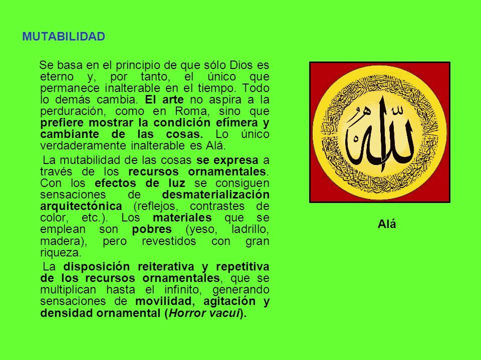 LA DECORACIÓN EN EL ARTE ISLÁMICO Puede decirse que el arte islámico consiste en un número relativamente limitado de formas simples, muchas de las cuales pueden ser usadas intercaladas en diferentes medios.