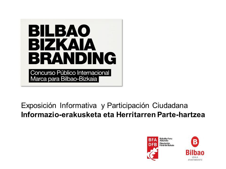 Exposición Informativa y Participación Ciudadana Informazio-erakusketa eta Herritarren Parte-hartzea