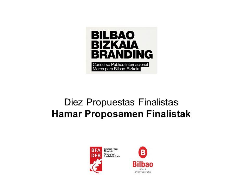 Diez Propuestas Finalistas Hamar Proposamen Finalistak