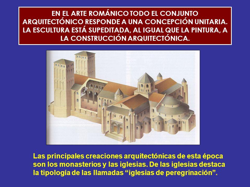 LA ARQUITECTURA ROMÁNICA: EL MONASTERIO Y LA IGLESIA.