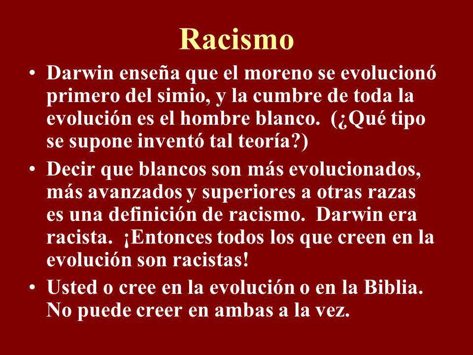 El título completo del libro de Darwin: El Origen de Especies por Medio de Selección Natural, o la Preservación de Razas Favorecidas en la Lucha para