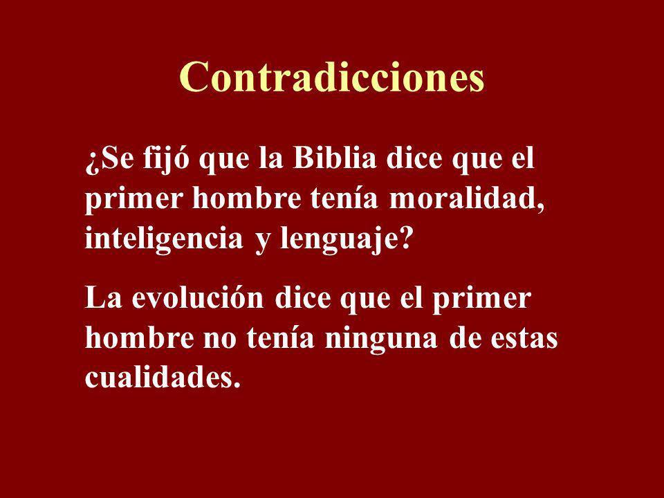 Adán tenía inteligencia y lenguaje Génesis 2:19-20 19 Jehová Dios formó, pues, de la tierra toda bestia del campo, y toda ave de los cielos, y las tra
