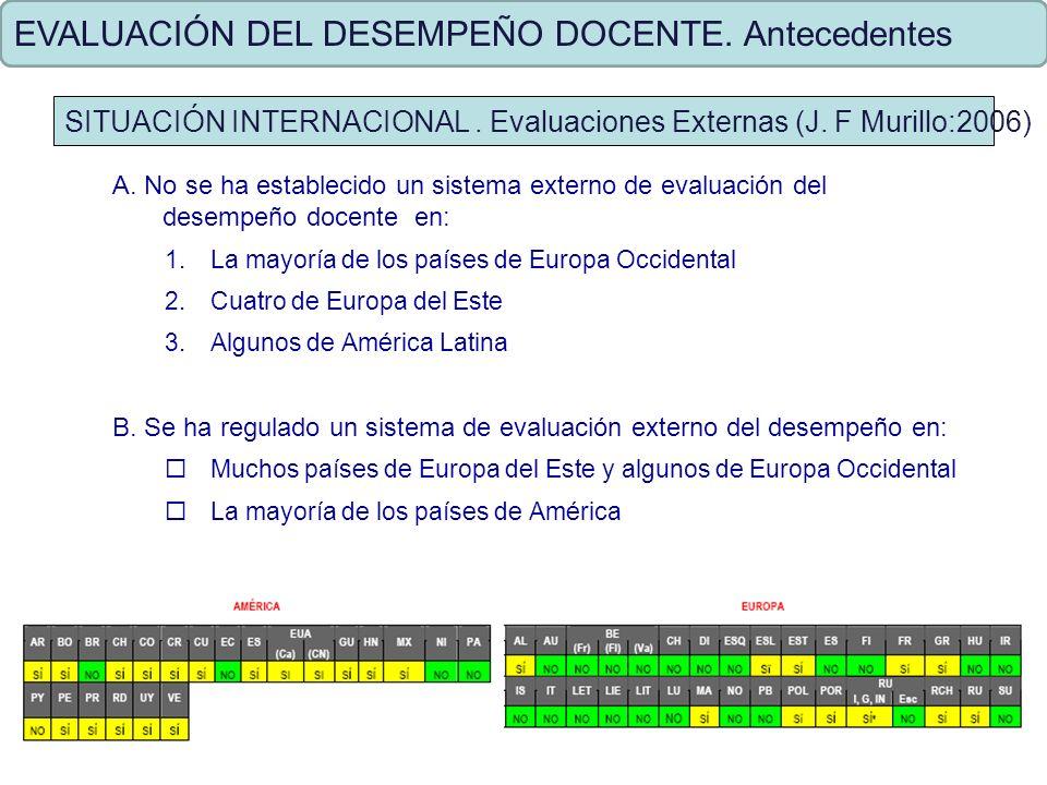 EVALUACIÓN DEL DESEMPEÑO DOCENTE. Criterios de Evaluación previstos en la Ley N º 29062