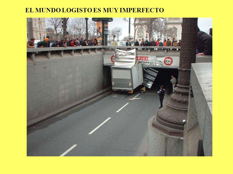 EL MUNDO LOGISTO ES MUY IMPERFECTO