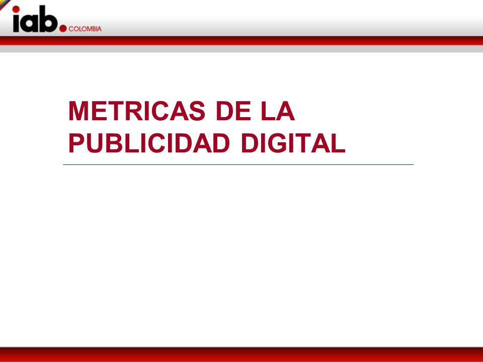 METRICAS DE LA PUBLICIDAD DIGITAL