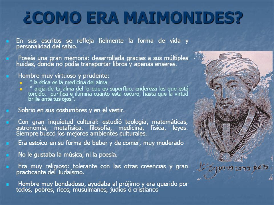 LA ORACIÓN DE MAIMONIDES II Da vigor a mi cuerpo y a mi espíritu, a fin de que esté siempre dispuestos a ayudar con buen ánimo al pobre y al rico, al malo y al bueno, al enemigo igual que al amigo.