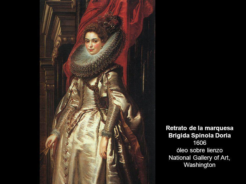 Retrato de la marquesa Brigida Spinola Doria 1606 óleo sobre lienzo National Gallery of Art, Washington