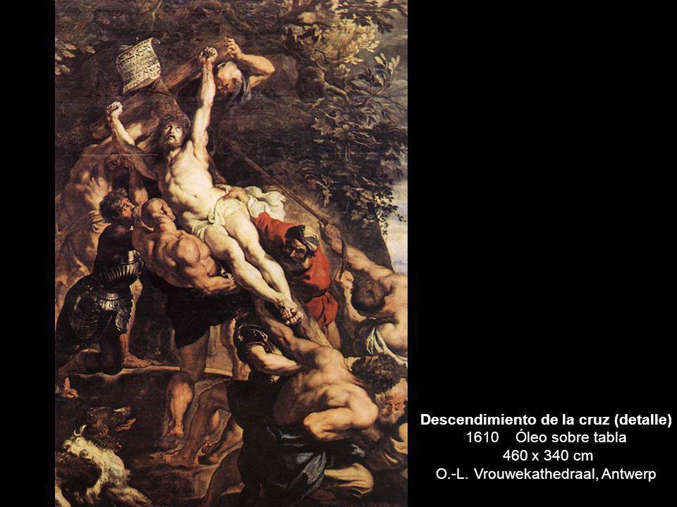 Descendimiento de la cruz (detalle) 1610 Óleo sobre tabla 460 x 340 cm O.-L. Vrouwekathedraal, Antwerp