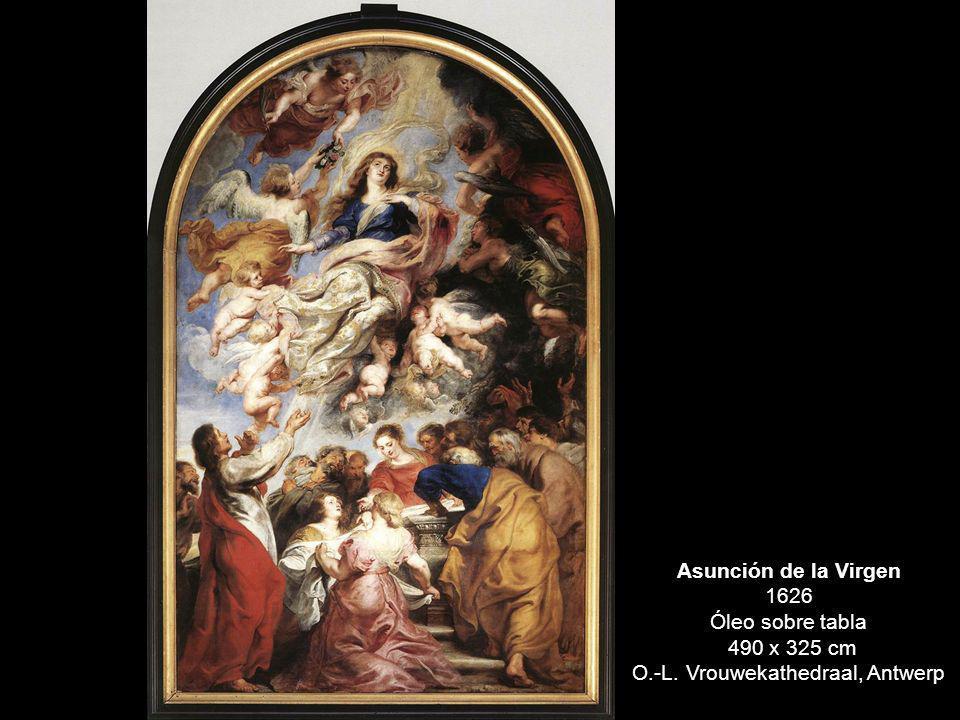 Asunción de la Virgen 1626 Óleo sobre tabla 490 x 325 cm O.-L. Vrouwekathedraal, Antwerp
