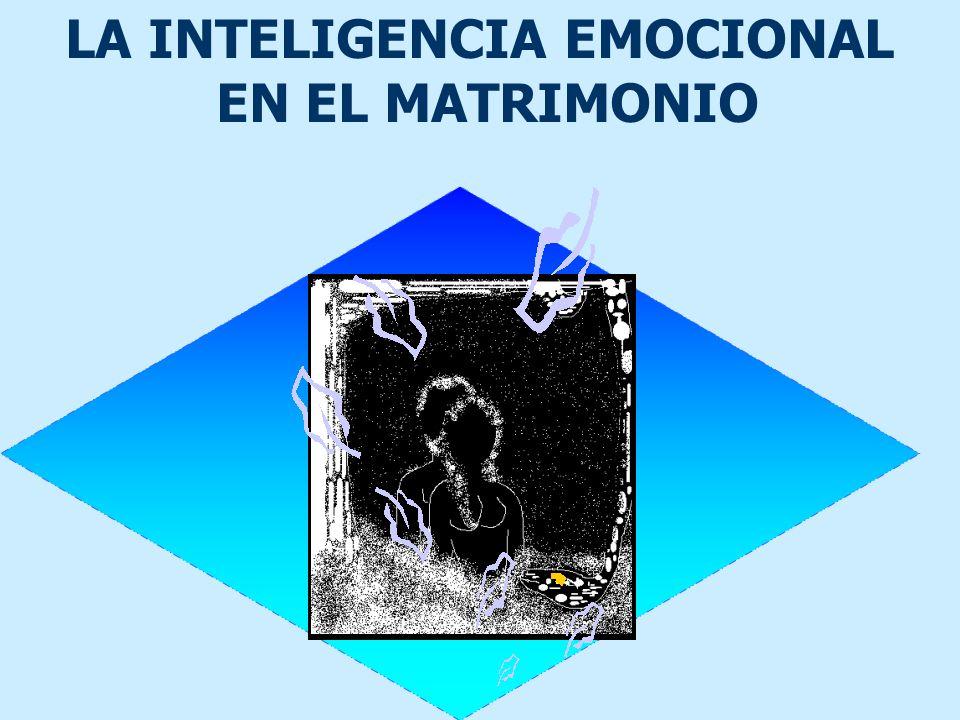 LA INTELIGENCIA EMOCIONAL EN EL MATRIMONIO