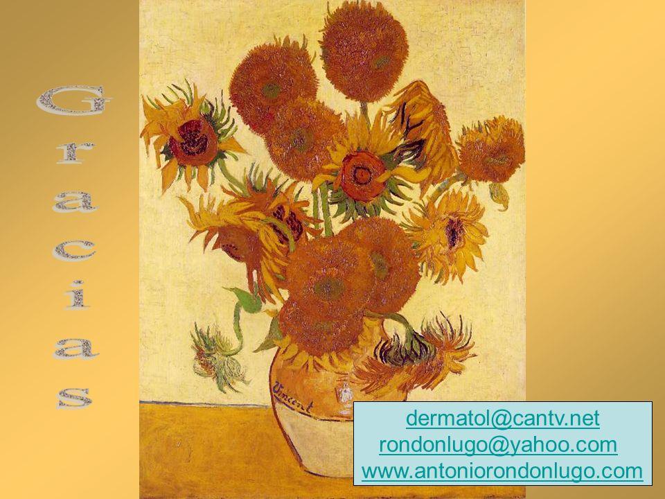 dermatol@cantv.net rondonlugo@yahoo.com www.antoniorondonlugo.com