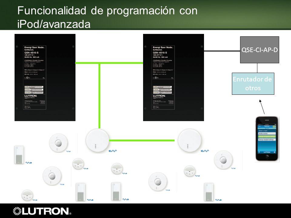QSE-CI-AP-D Enrutador de otros Funcionalidad de programación con iPod/avanzada
