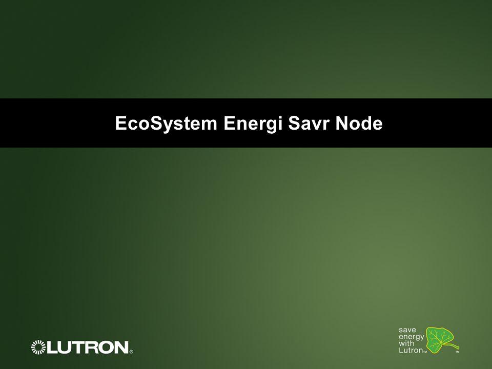 EcoSystem Energi Savr Node
