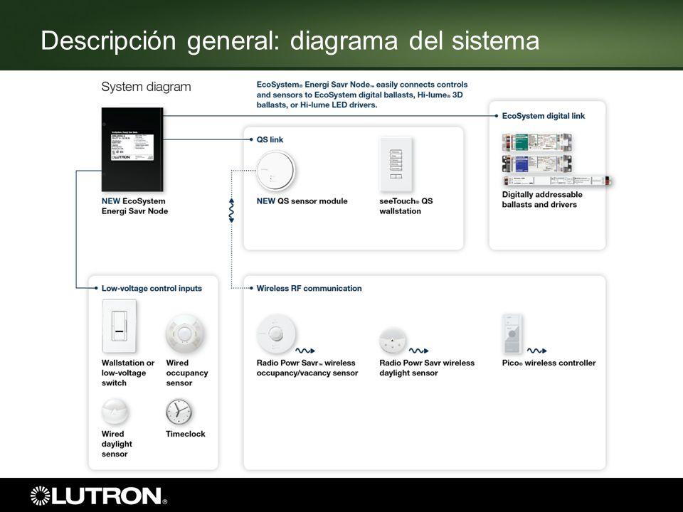 6 4 conexiones para sensores fotoeléctricos alámbricos (todos sensores con cables de corriente) 4 controles alámbricos (1 y 4 botones) Descripción general: conexiones de los sensores