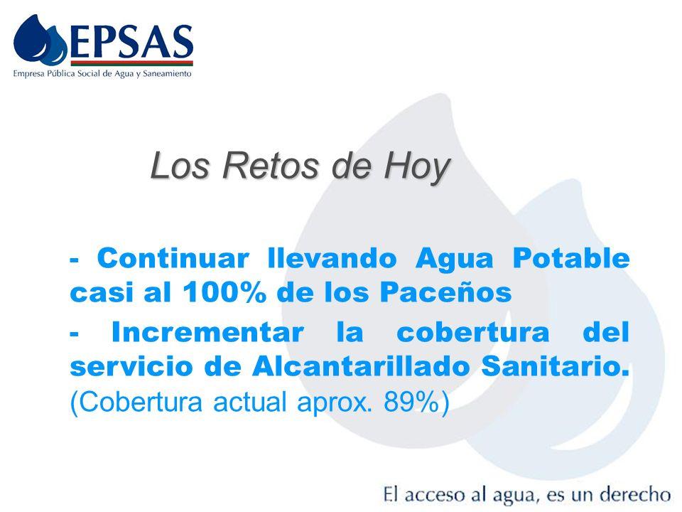 Beneficios Con el servicio de Agua Potable y alcantarillado, se reducen aproximadamente en un 55 % las Muertes Infantiles (INE 2001) Las personas que