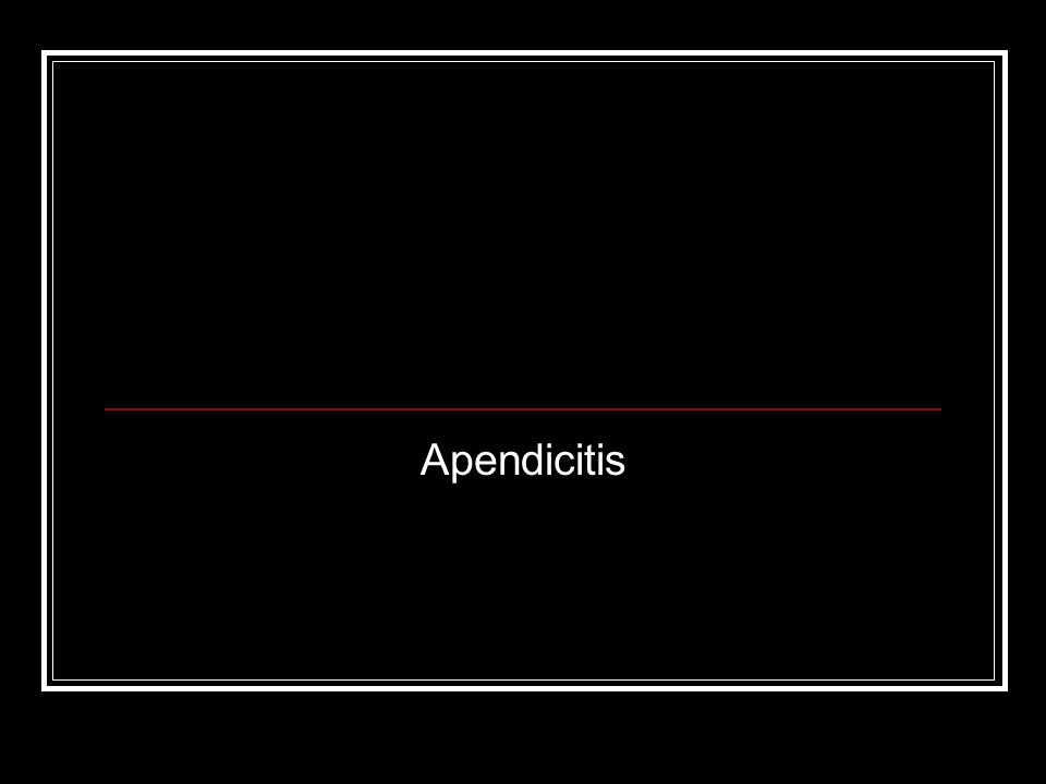 Evolutiva Apendicitis aguda sin perforación.Apendicitis aguda perforada: Con peritonitis local.