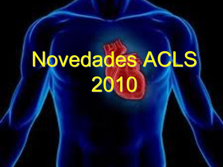 Novedades ACLS 2010