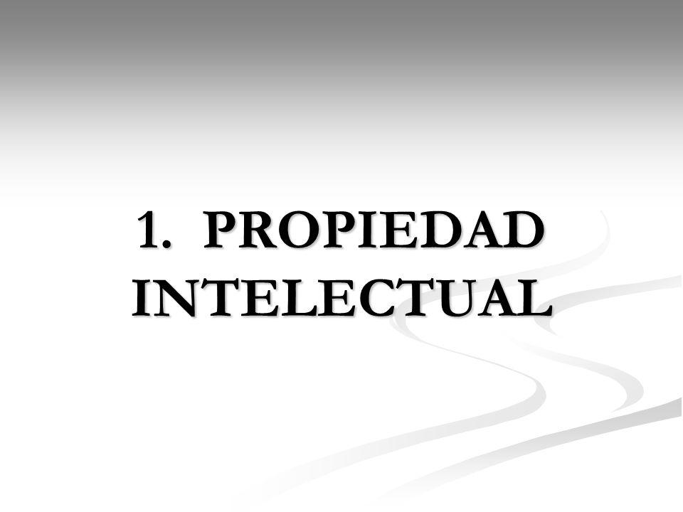 1. PROPIEDAD INTELECTUAL