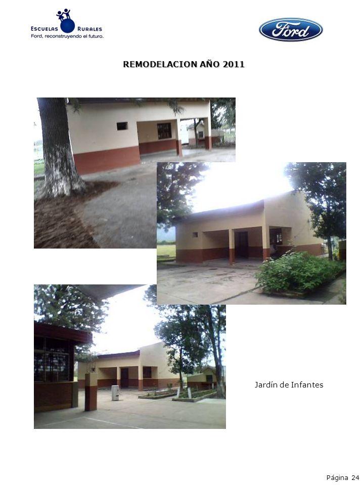 Página 24 Jardín de Infantes REMODELACION AÑO 2011