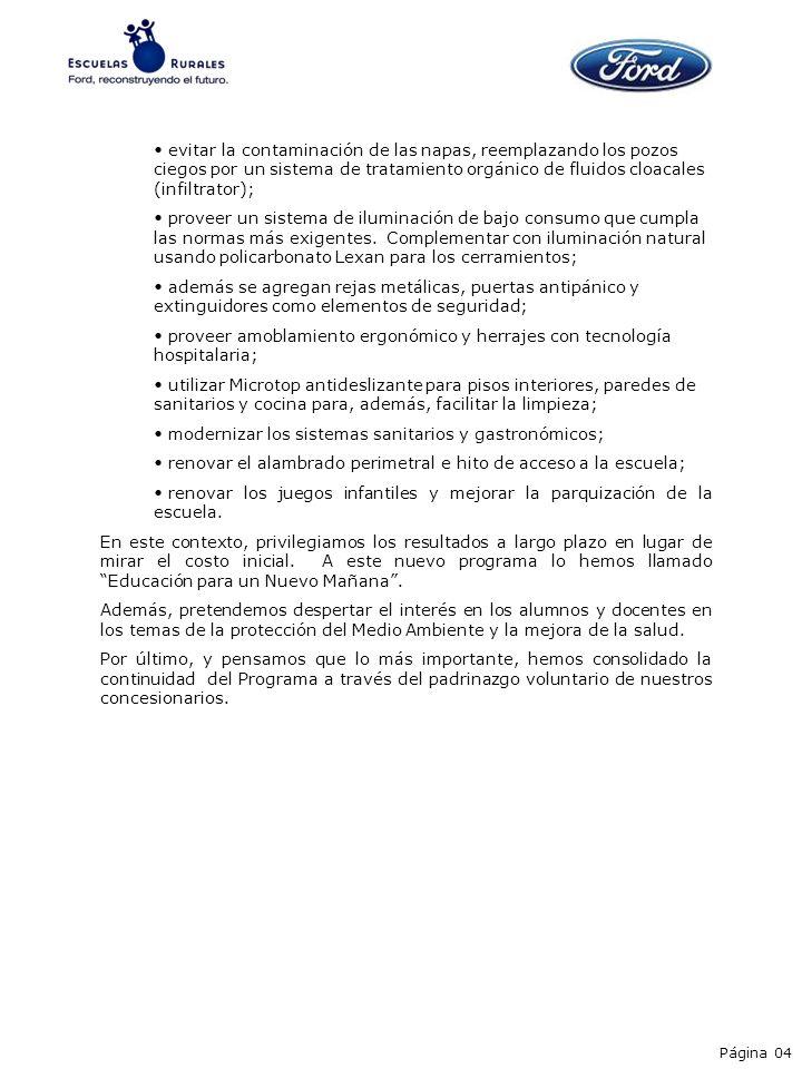 Obras terminadas La Paz – Pcia.de Entre Ríos Sauce – Pcia.