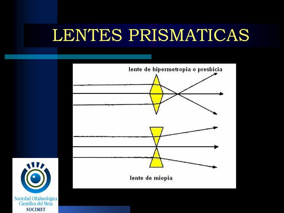 LENTES PRISMATICAS