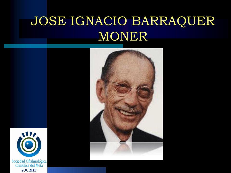 JOSE IGNACIO BARRAQUER MONER