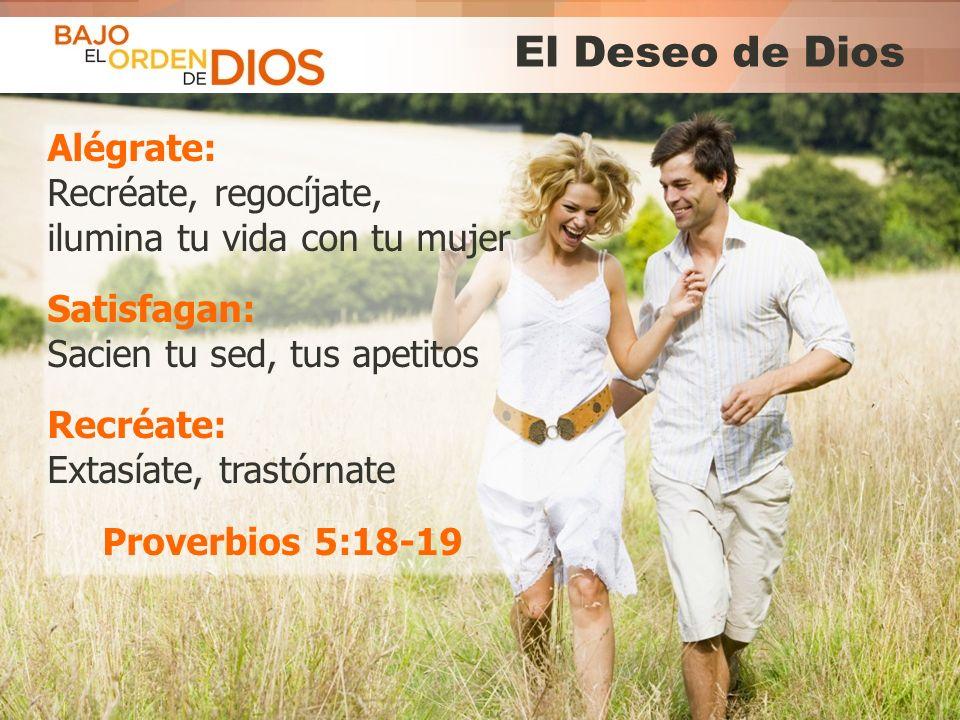 © 2013 Todos los derechos reservados ® Bajo el Orden de Dios es una marca registrada El Deseo de Dios