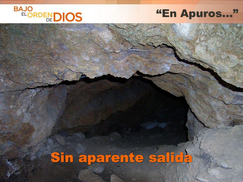 © 2013 Todos los derechos reservados ® Bajo el Orden de Dios es una marca registrada En Apuros… Sin aparente salida