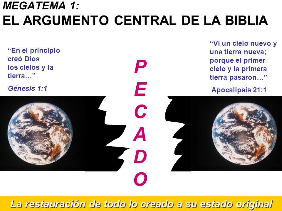 En el principio creó Dios los cielos y la tierra… Génesis 1:1 Vi un cielo nuevo y una tierra nueva; porque el primer cielo y la primera tierra pasaron