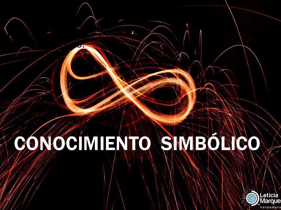 Simbólico. CONOCIMIENTO SIMBÓLICO