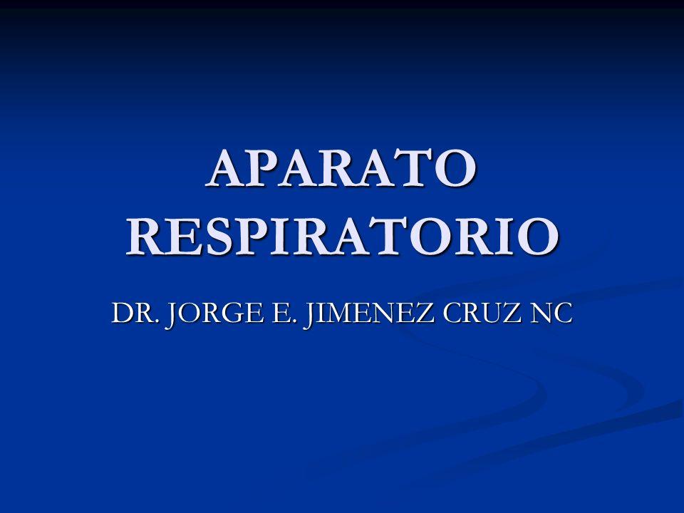 APARATO RESPIRATORIO DR. JORGE E. JIMENEZ CRUZ NC
