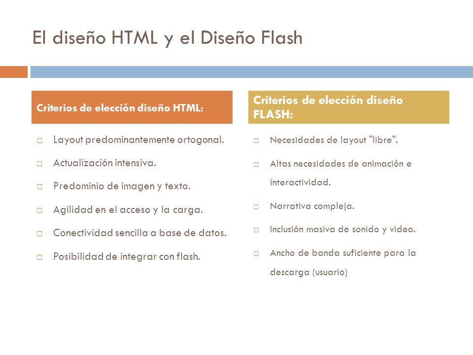 El diseño Web de tipo HTML limita sus familias tipográficas a aquellas denominadas de sistema, ya que son las que se encuentran presentes en la mayoría de los sistemas operativos y plataformas.