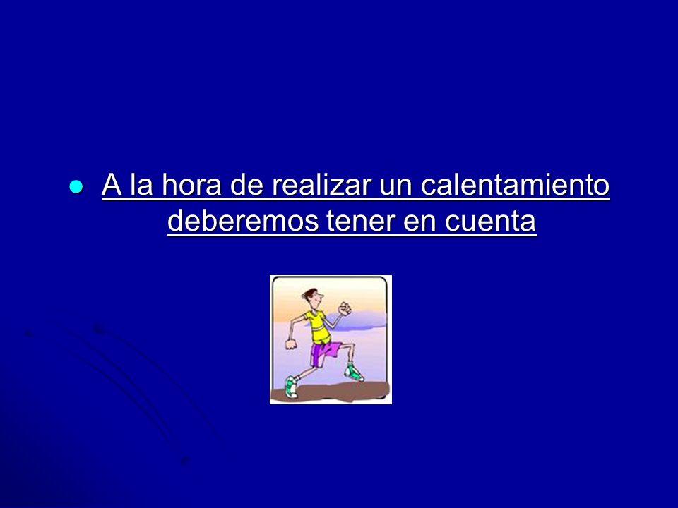 Prof.: Felisa Molinero Torres INTENSIDAD Durante el calentamiento nos debemos mover en unos valores de frecuencia cardiaca de 120-150 p/m.
