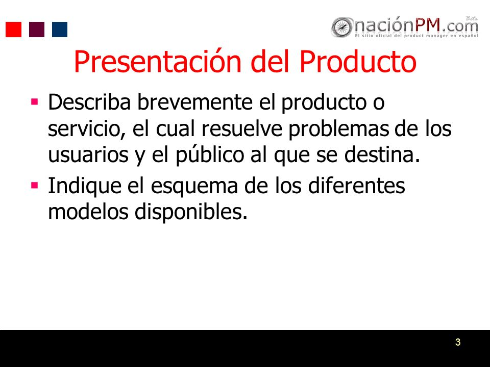 3 Describa brevemente el producto o servicio, el cual resuelve problemas de los usuarios y el público al que se destina. Indique el esquema de los dif