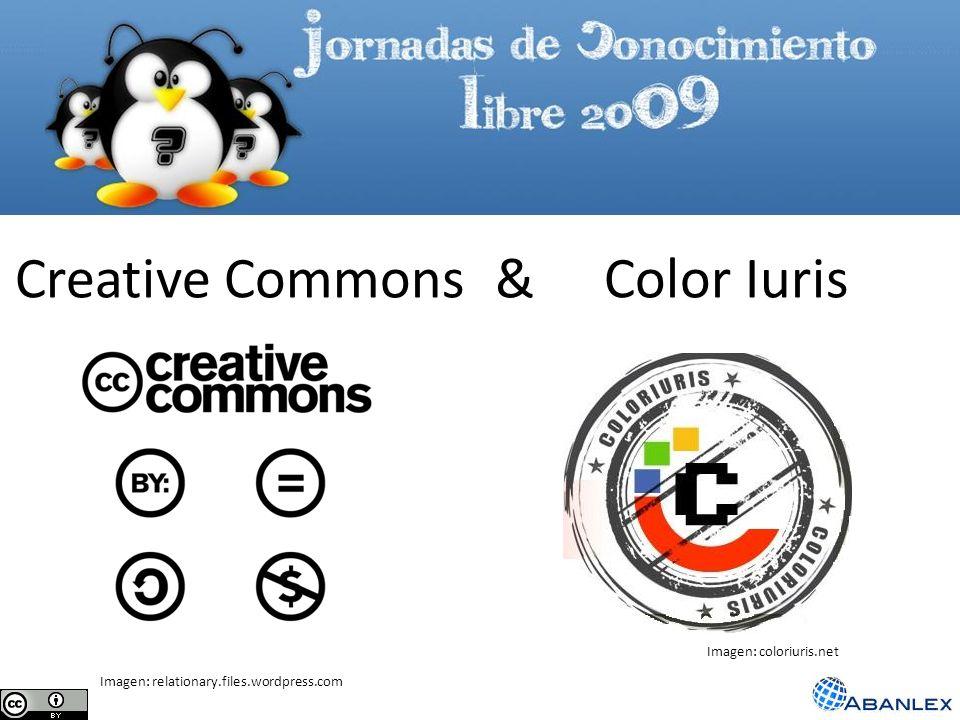 Creative Commons & Color Iuris Imagen: relationary.files.wordpress.com Imagen: coloriuris.net