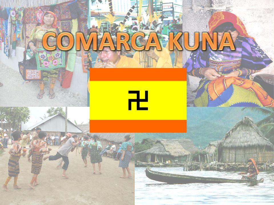 COMARCAS KUNAS La comarca Kuna Yala incluye el archipiélago de San Blas o Las Mulatas, el cual está formado por más de 365 islas, islotes y cayos.