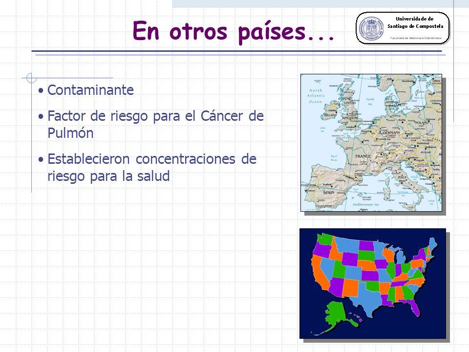 Distribución geográfica <60 Bq/m-3 60-120 Bq/m-3 121-240 Bq/m-3 241-400 Bq/m-3 >400 Bq/m-3