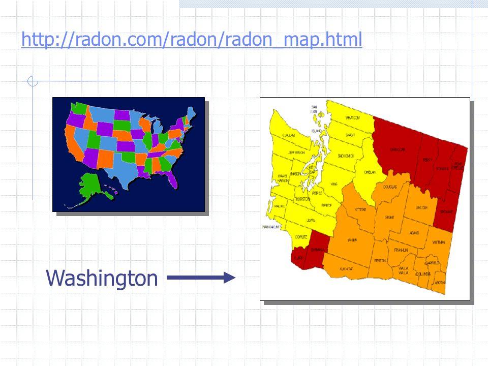 Objetivos 3.Valorar qué características de las viviendas (localización, altitud, geología) están asociadas a una mayor concentración de radón.