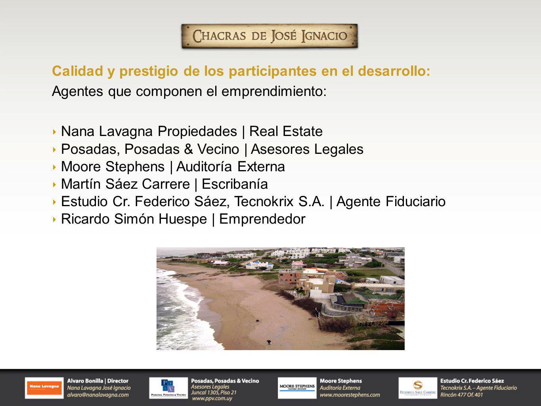 Calidad y prestigio de los participantes en el desarrollo: Agentes que componen el emprendimiento: Nana Lavagna Propiedades | Real Estate Posadas, Pos
