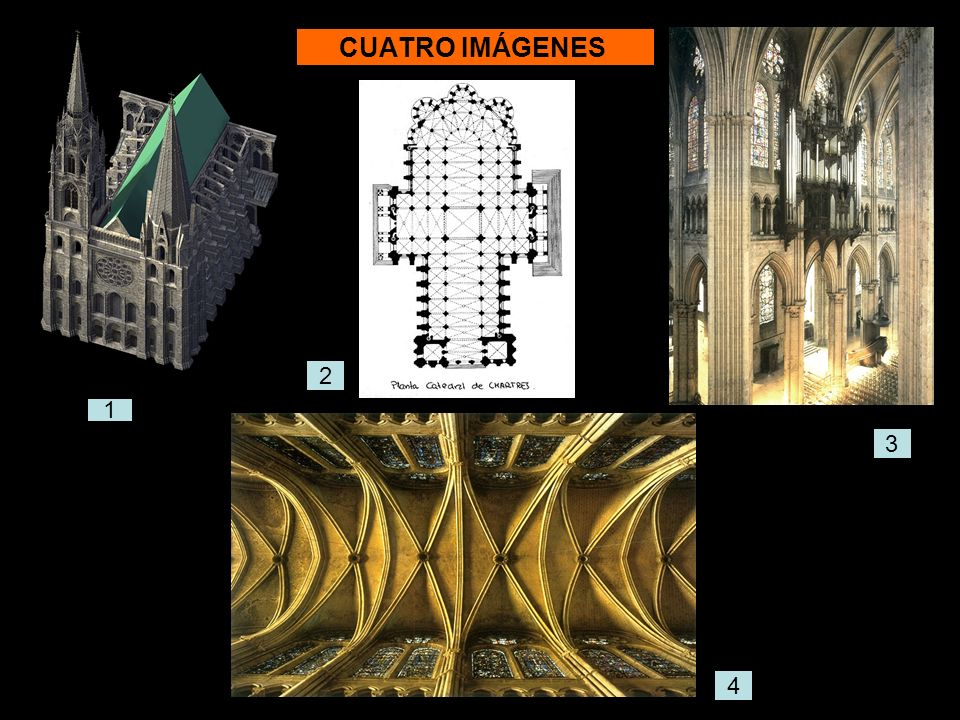 Modelado de la catedral de Chartres 1