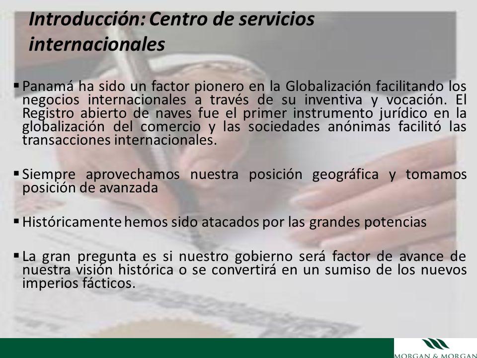 Introducción: Centro de servicios internacionales Panamá ha sido un factor pionero en la Globalización facilitando los negocios internacionales a trav