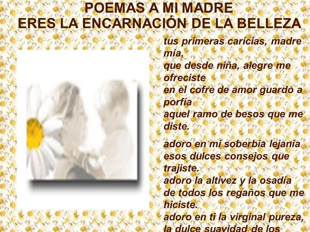 MADRE QUERIDA Oh, templo augusto del amor.Tu nombre es emblema de paz y de consuelo.