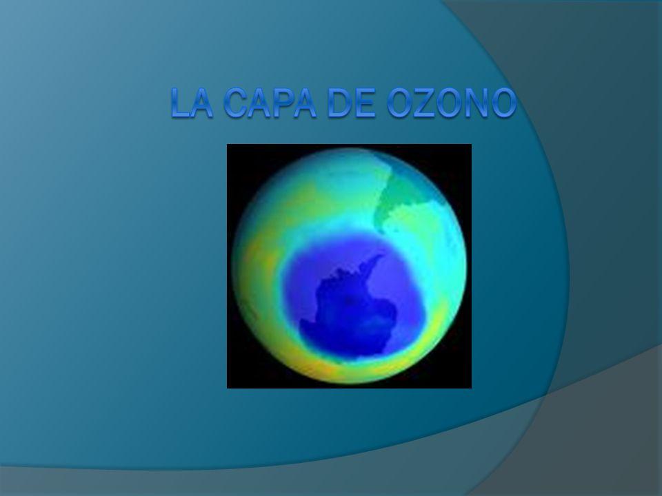¿Qué es la capa de ozono.