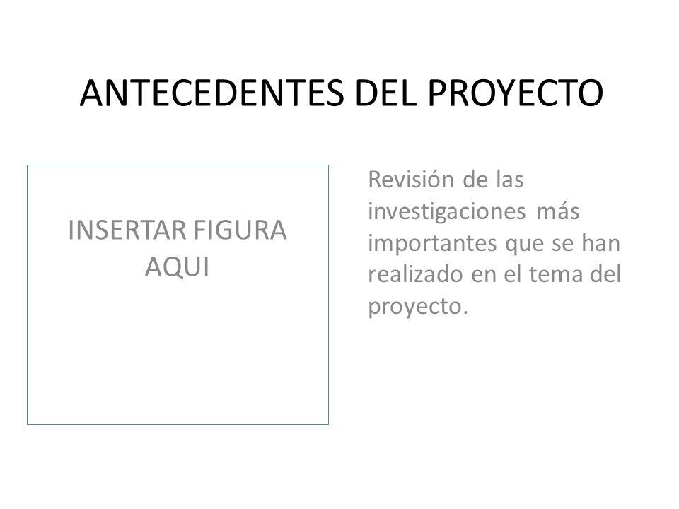 FORMULACIÓN DEL PROTOTIPO O PRODUCTO INSERTAR FIGURA AQUI Describir lo que se espera al final del proyecto.